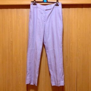 Rafaella Lilac Straight Leg Dress Pants - Size 10